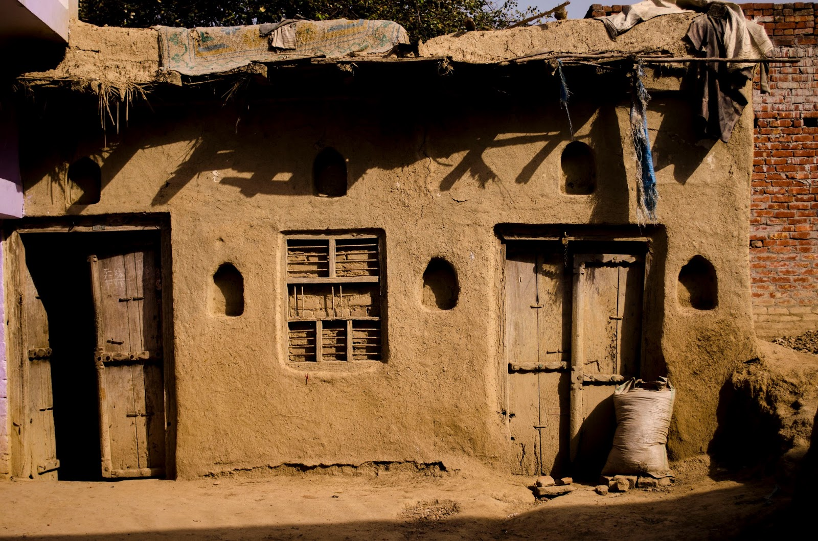 Mud house essence of rural indian architecture