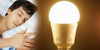 Bahaya Tidur dengan Menghidupkan Lampu