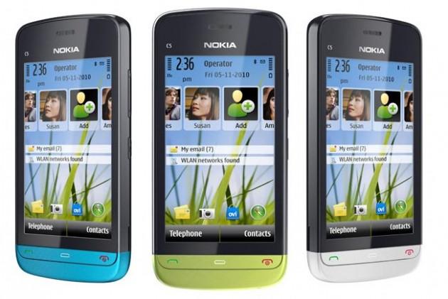 Nokia C5-03 Especificaciones, Caracteristicas y precios