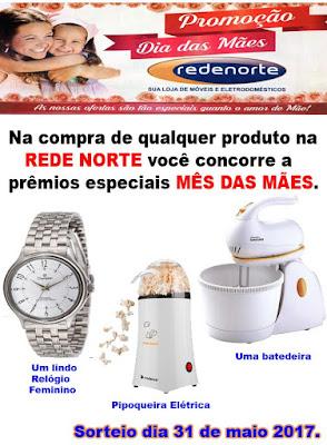 Promoção Mês das Mães REDE NORTE