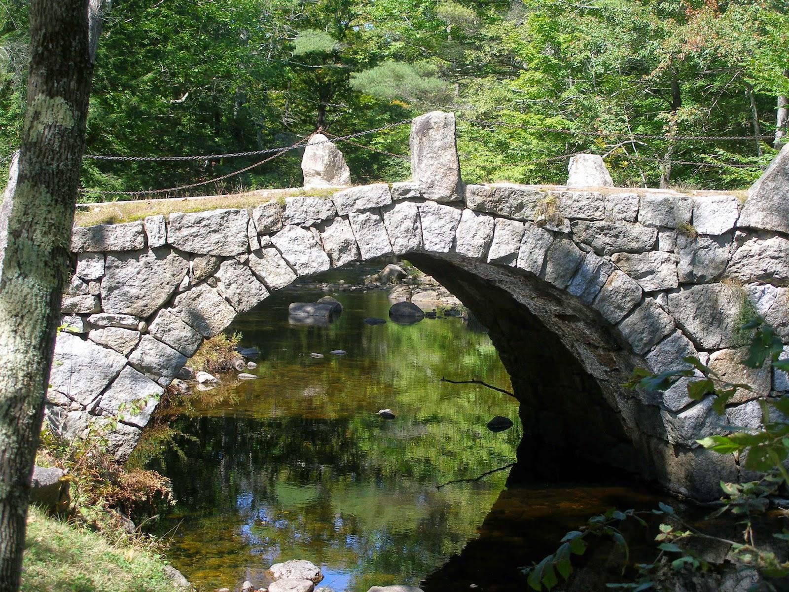 Stone Arch Bridge Design Henniker House ...