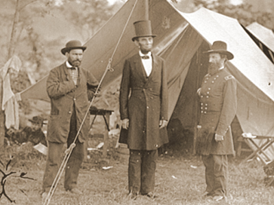 civil war lincoln pinkerton