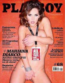Mariana Diarco Capa Da Playboy Argentina Essa Gata Muito