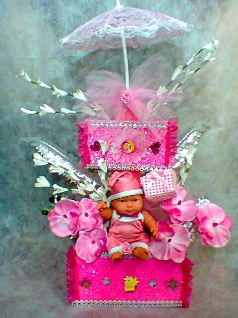 bebek doğum yapay çiçek