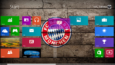 2013 Fc Bayern Munchen Windows 8 Theme