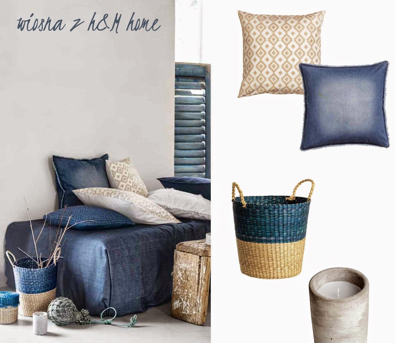 Dacon-Design-wnetrza-HM-Home-wiosna-dżins, jeans, świecznik, beton