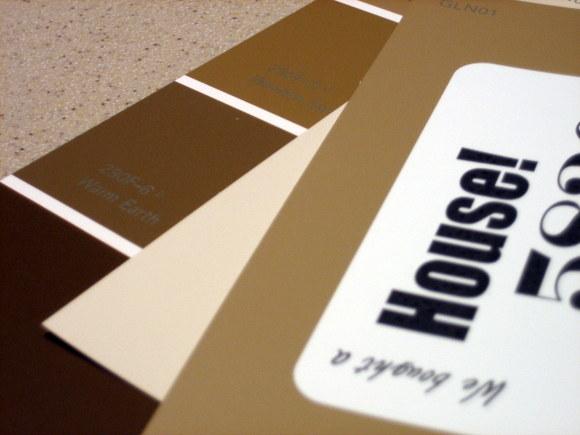 Paint Swatch House Announcement