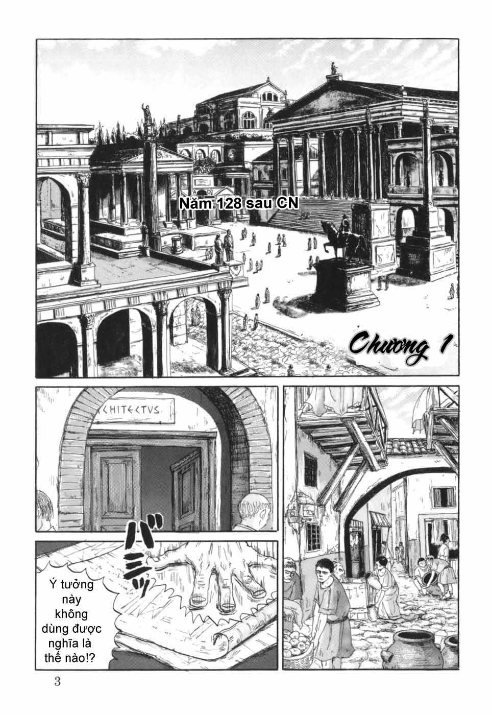 Thermae Romae chap 1 - Trang 8