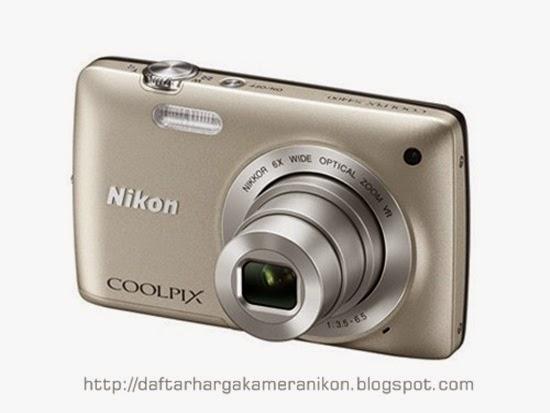 Harga dan Spesifikasi Kamera Nikon Coolpix S4400