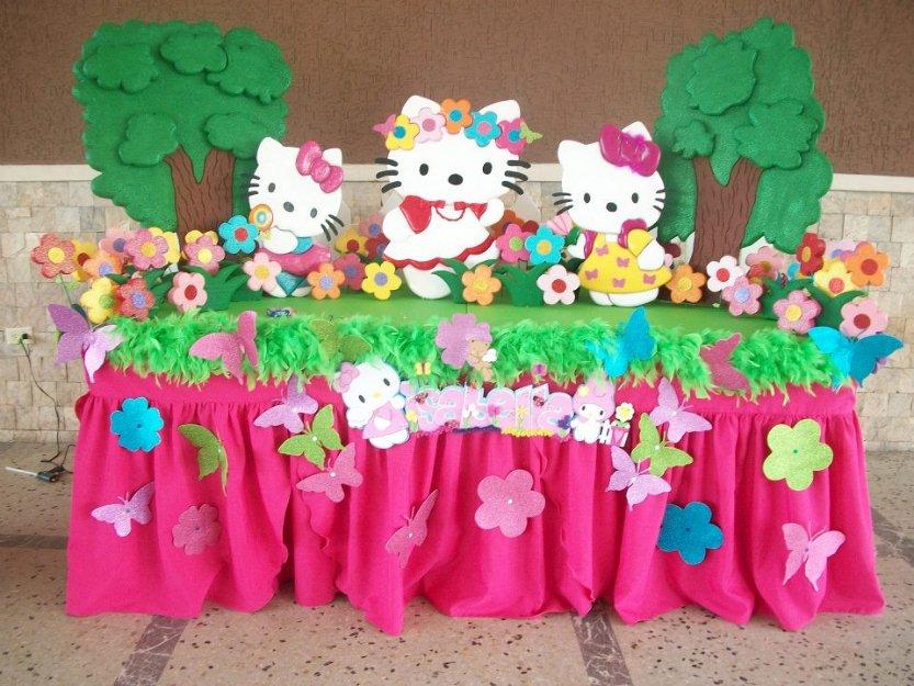 Fiestas infantiles hello kitty parte 2 - Decoracion hello kitty ...