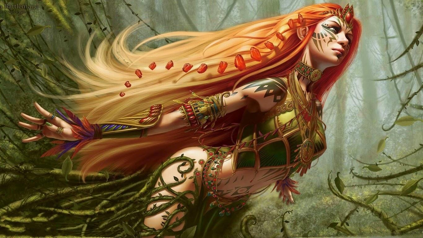 Red headed elf maiden porncraft clip