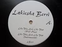 Lakiesha Berri – Like This And Like That (VLS) (1997)