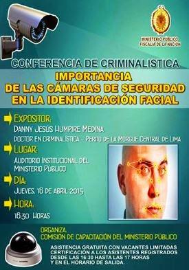 conferencia de criminalistica