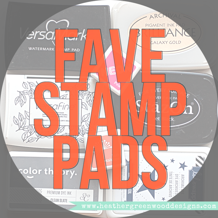 Heather Greenwood | List of favorite stamps and inks for Project Life®