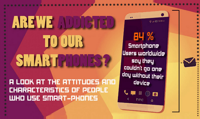 Image: Are We Addicted to Our Smartphones?