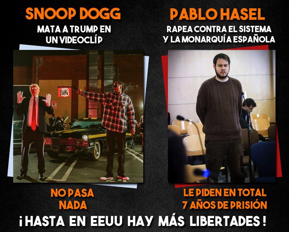 SI PASARA EN CUBA PEDIRÍAIS BOMBARDEO - Pablo Hasel