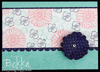 Reason to Smile card by Bekka www.feeling-crafty.co.uk - Join Stampin' Up! Here