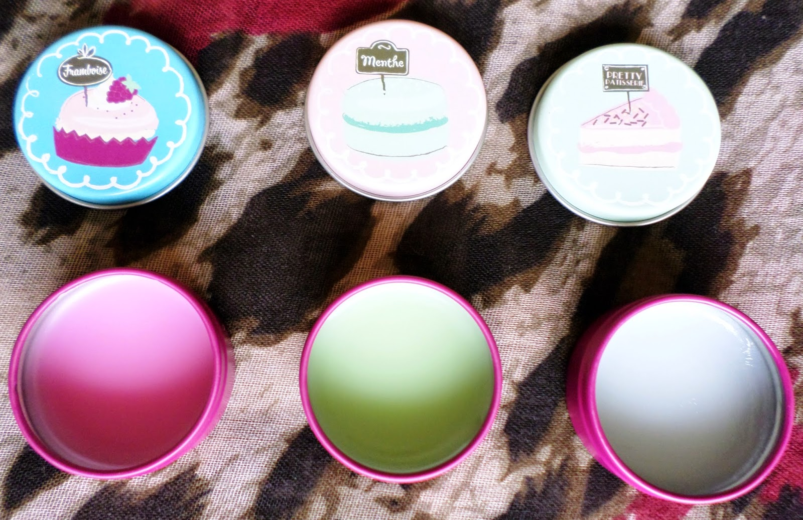 Boots Pretty Patisserie Lip Balm Trio