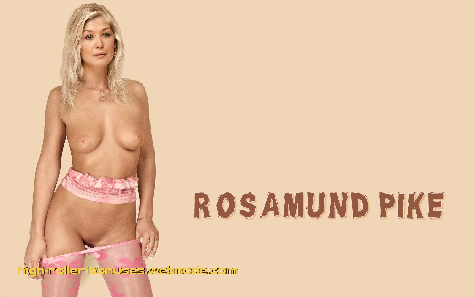 Pike naked rosamund