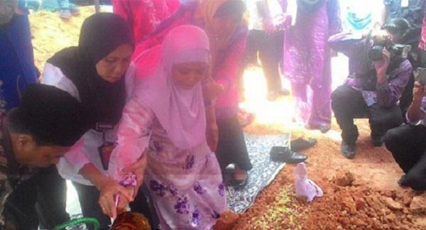 Jenazah Firdaus, Remaja OKU selamat dikebumikan