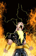 Here is a Black Adam pic I penciled and inked and my buddy Jeff Balke .