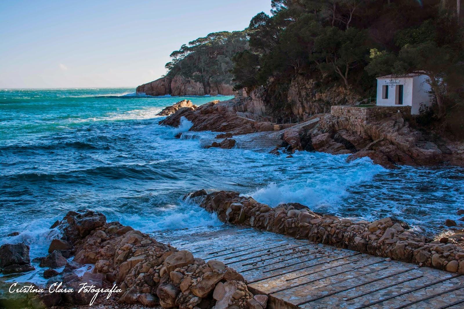 Cristina clara fotograf a el camino de ronda de aiguablava a platja fonda begur - Aiguablava piscina natural ...