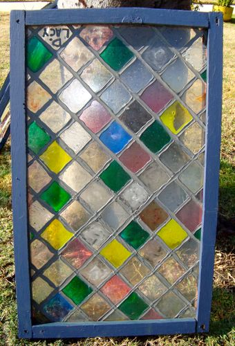how to make grey stain glass
