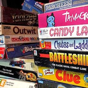 Empréstimo de jogos de tabuleiro