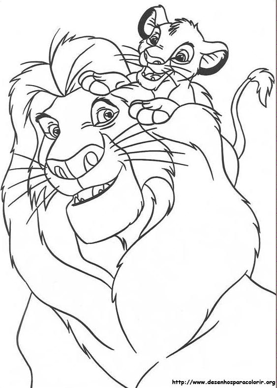 Line Art Là Gì : Cantinho pais e filhos o rei leÃo para colorir imprimir