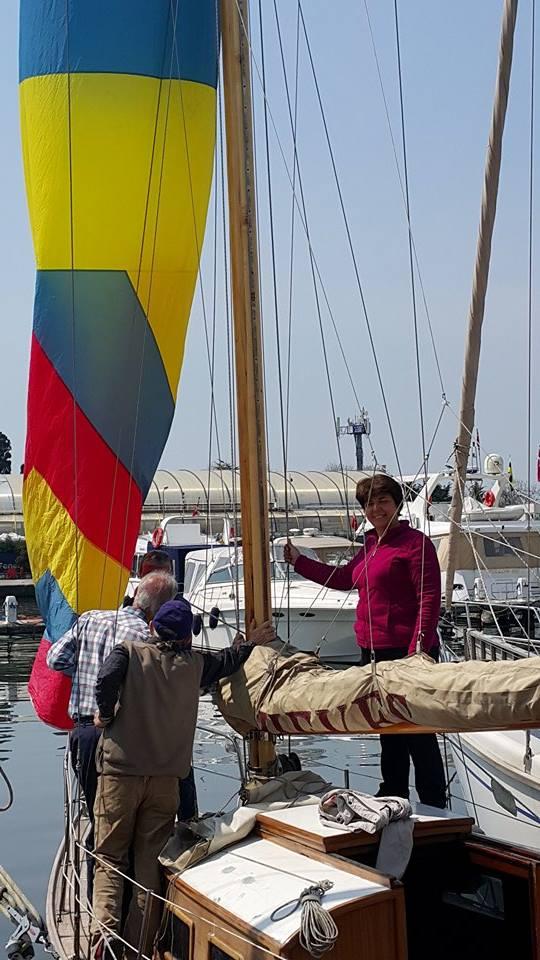 Yelkenli Yat Eğitimleri / Sürekli yelken pratiği