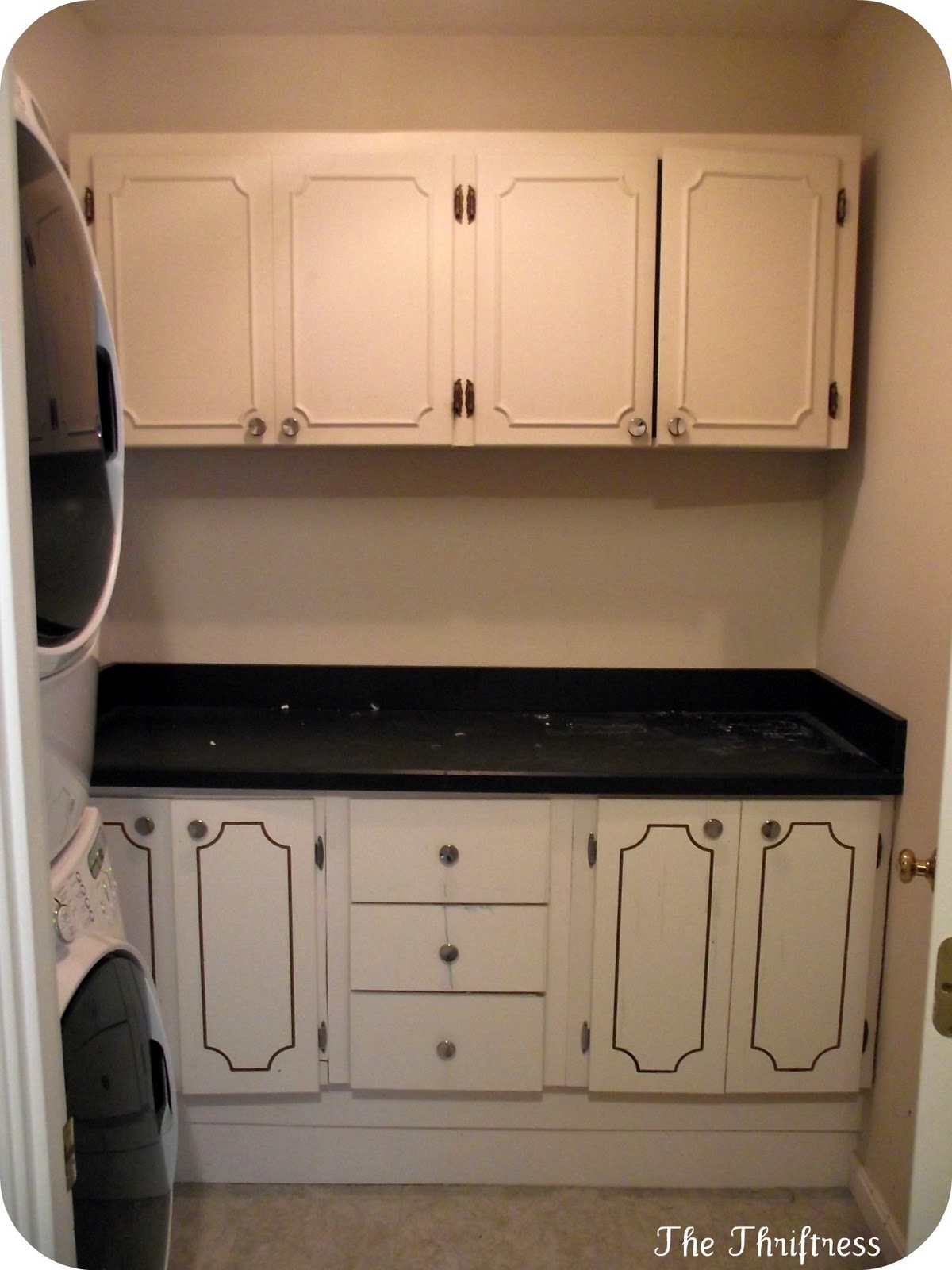 Laundry room upper cabinets architecture decorating ideas for Cheap kitchen units for utility room
