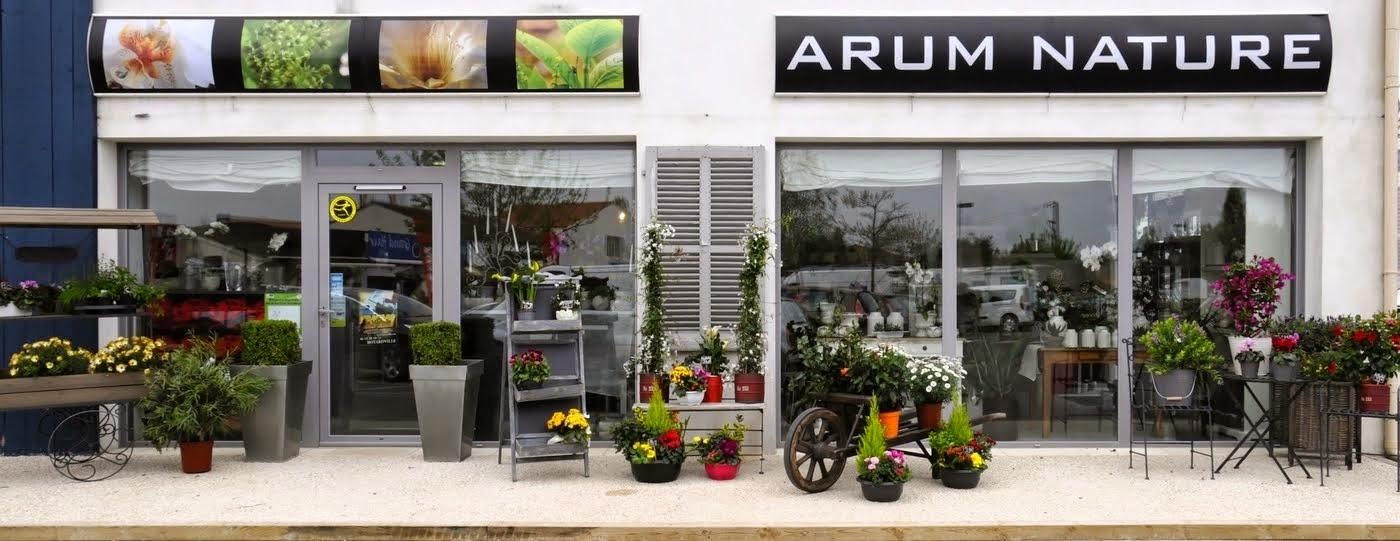 Bienvenue chez Arum Nature Fleuriste - Oléron !