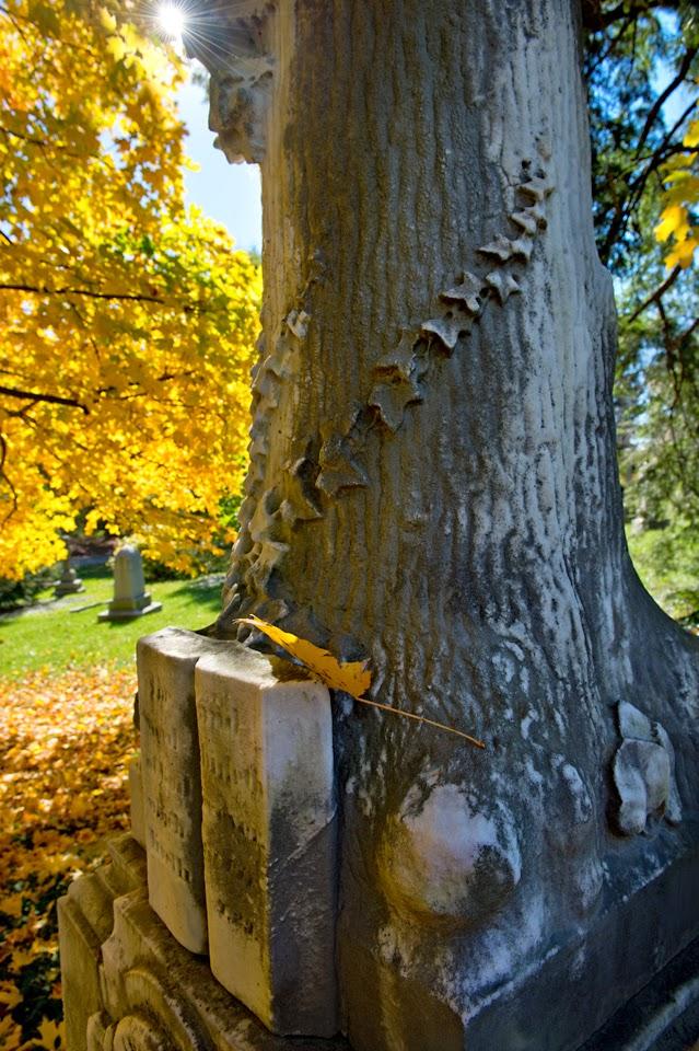 Spring Grove Cemetery; Cemetery; Graveyard; Tombstone; monument; mausoleum; Cincinnati; Autumn