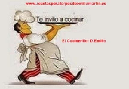 Recetas para torpes de Emilio Martín