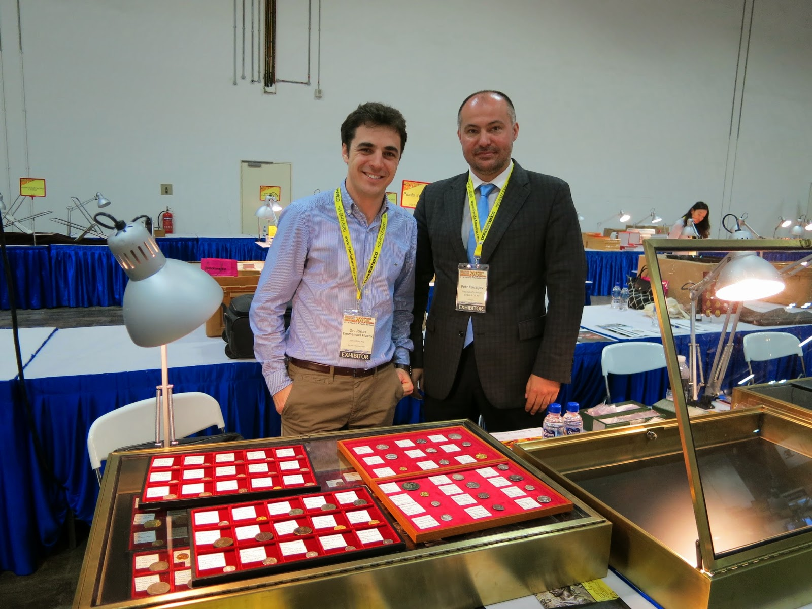 Dr. Jonas, Petr Kovaljov from Kunker, Switzerland