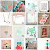 Etsy Coral & Teal Roundup