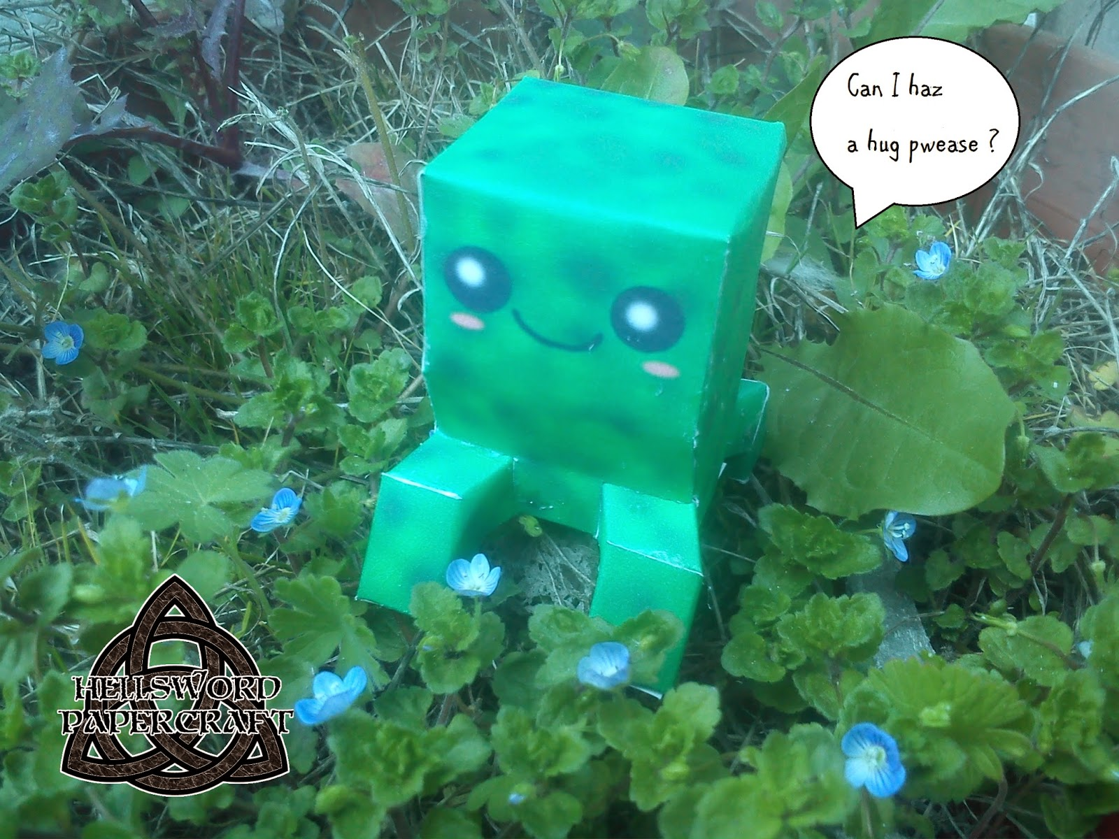 Chibi Creeper Papercraft