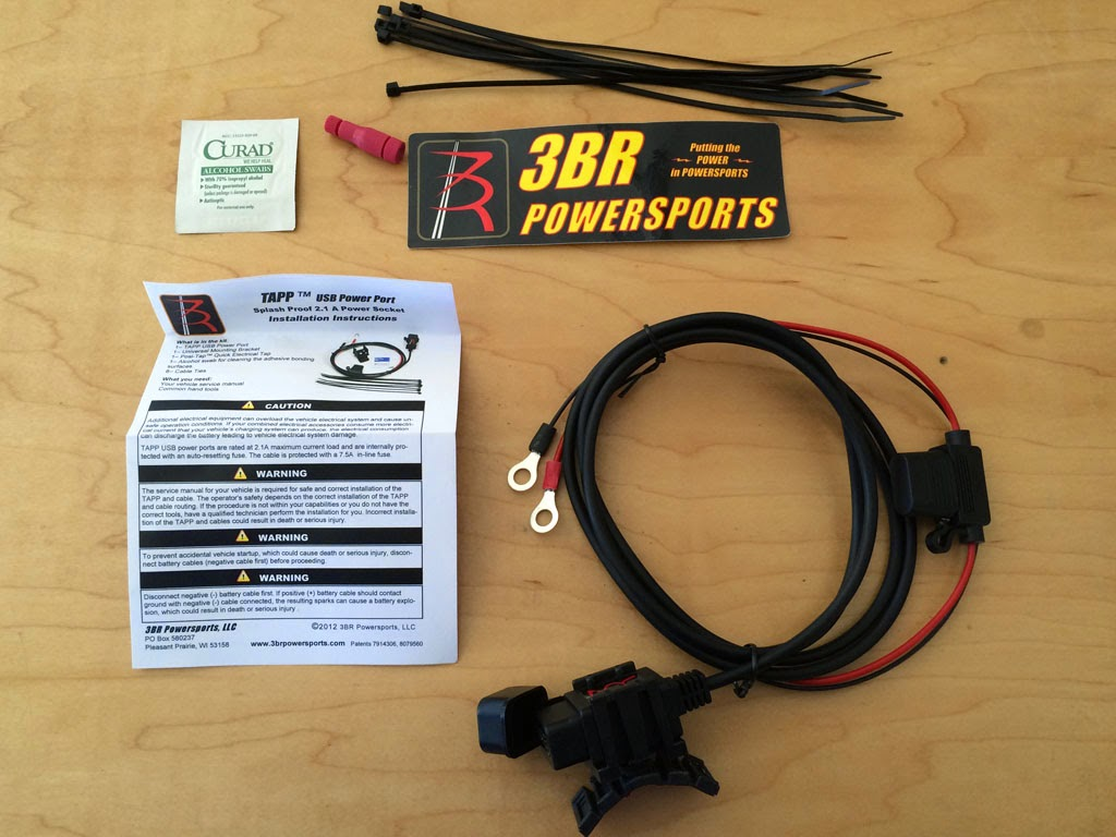 USB%2Bplug%2Bkit dualsport diary usb port and oversize bar adaptors installation wr250r wiring harness at reclaimingppi.co