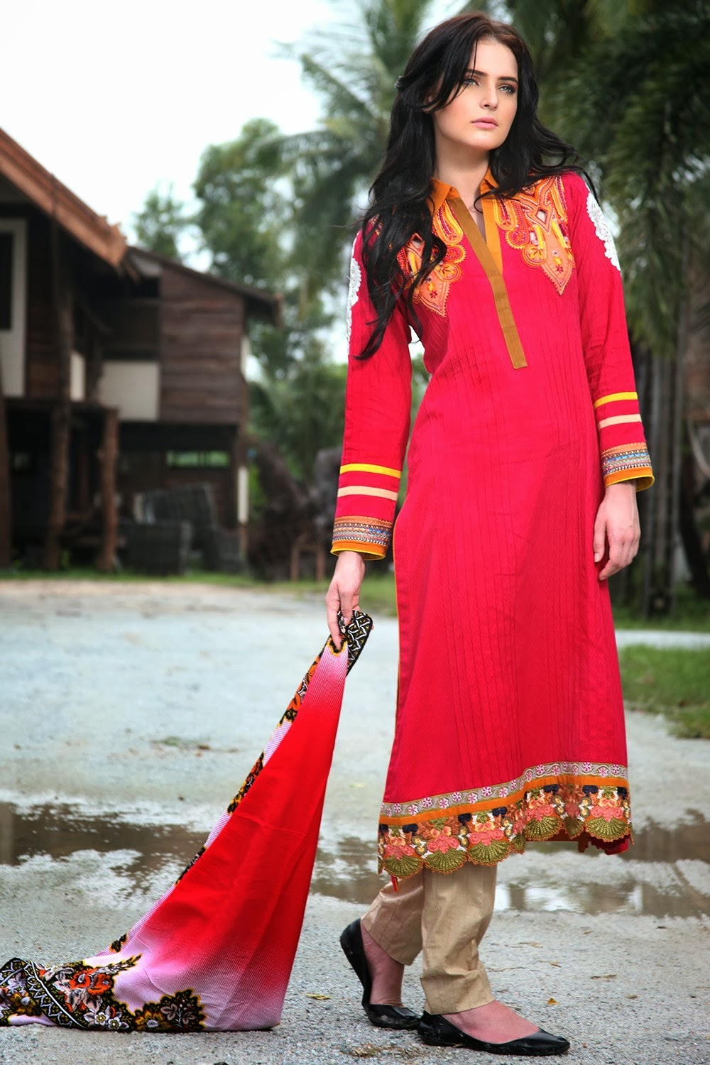 SatrangiByBonanzaFall Winter2013 2014 wwwfashionhuntworldblogspotcom 008 - Bonanza Satrangi Winter Collection 2014