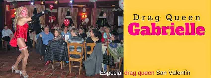 Especial San Valentín en Collado Mediano con Drag queen Gabrielle