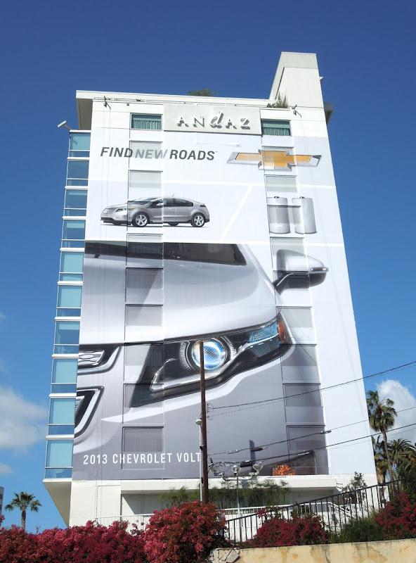 Giant Chevrolet Find New Roads billboard