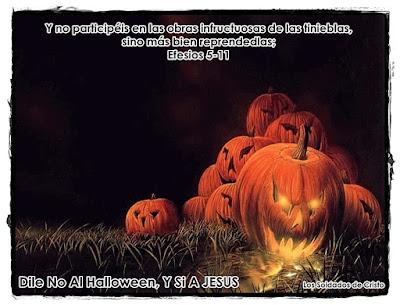 no al halloween y si a jesus