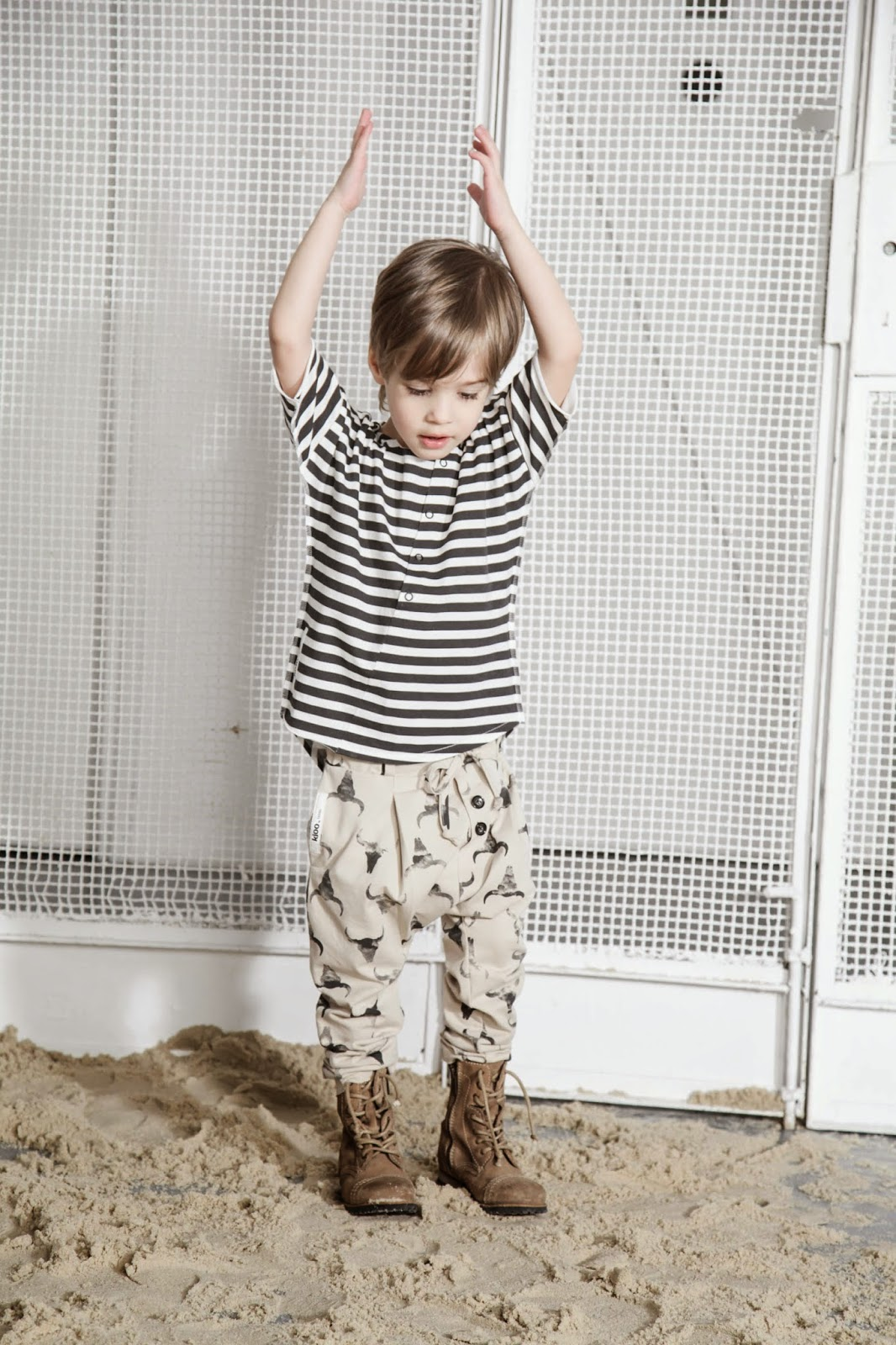 Kloo by Booso - Polish kids fashion spring-summer 2015 - baggy pants