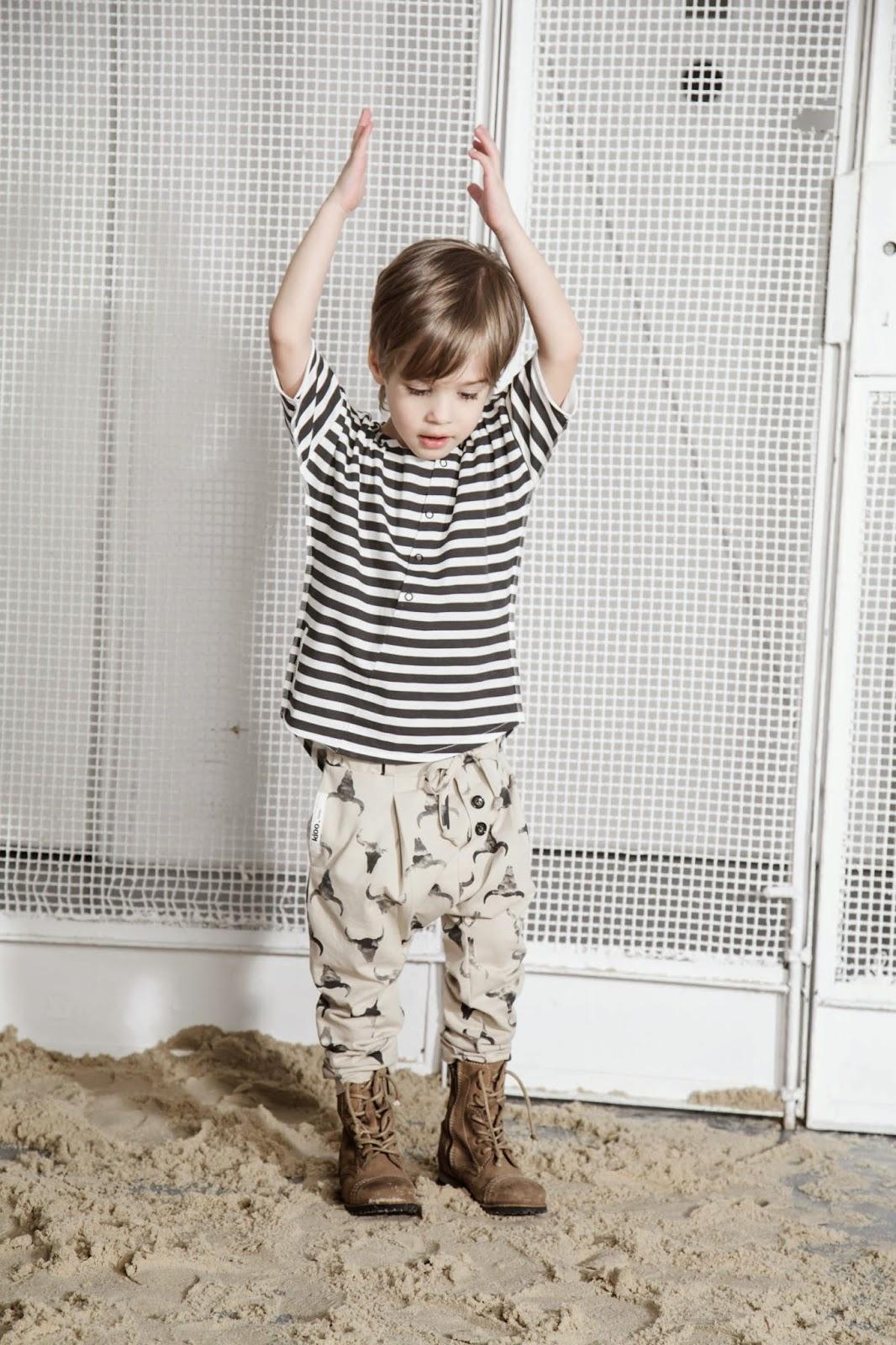 Kloo by Booso - Polish kids fashion spring-summer 2015 - baggy pants