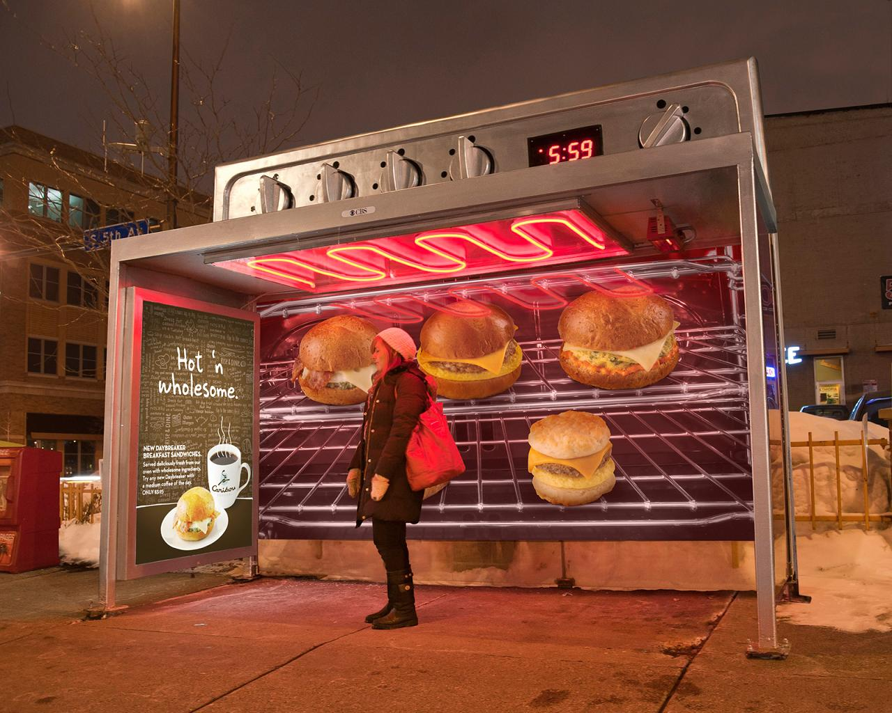 25 Clever and Unusual Bus Stop Advertisements – Part 2.