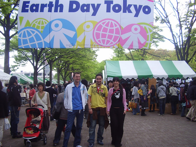 earth day tokyo en shibuya