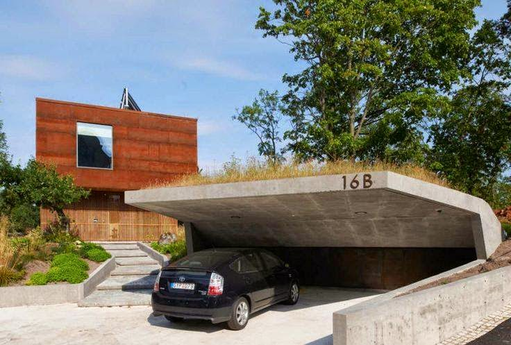 Organic architecture carport for Contemporary carport design architecture
