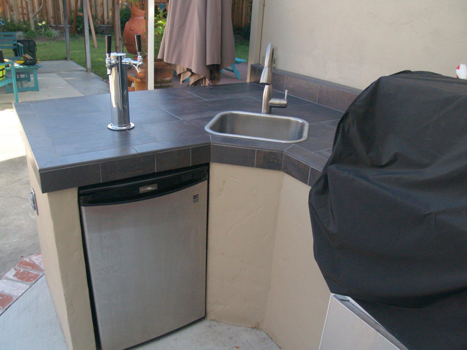 Countertop Kegerator : Guess What?: Kegerator conversion of Danby mini-fridge