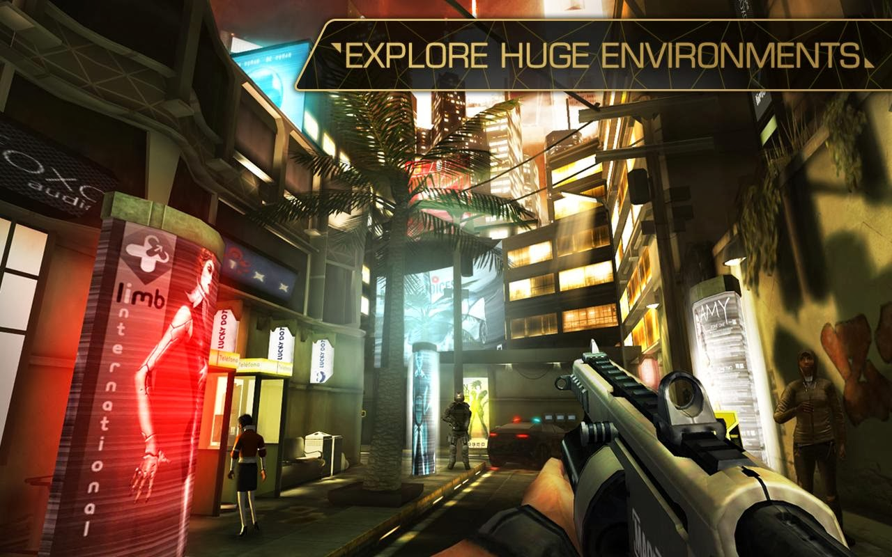 Deus Ex The Fall full apk
