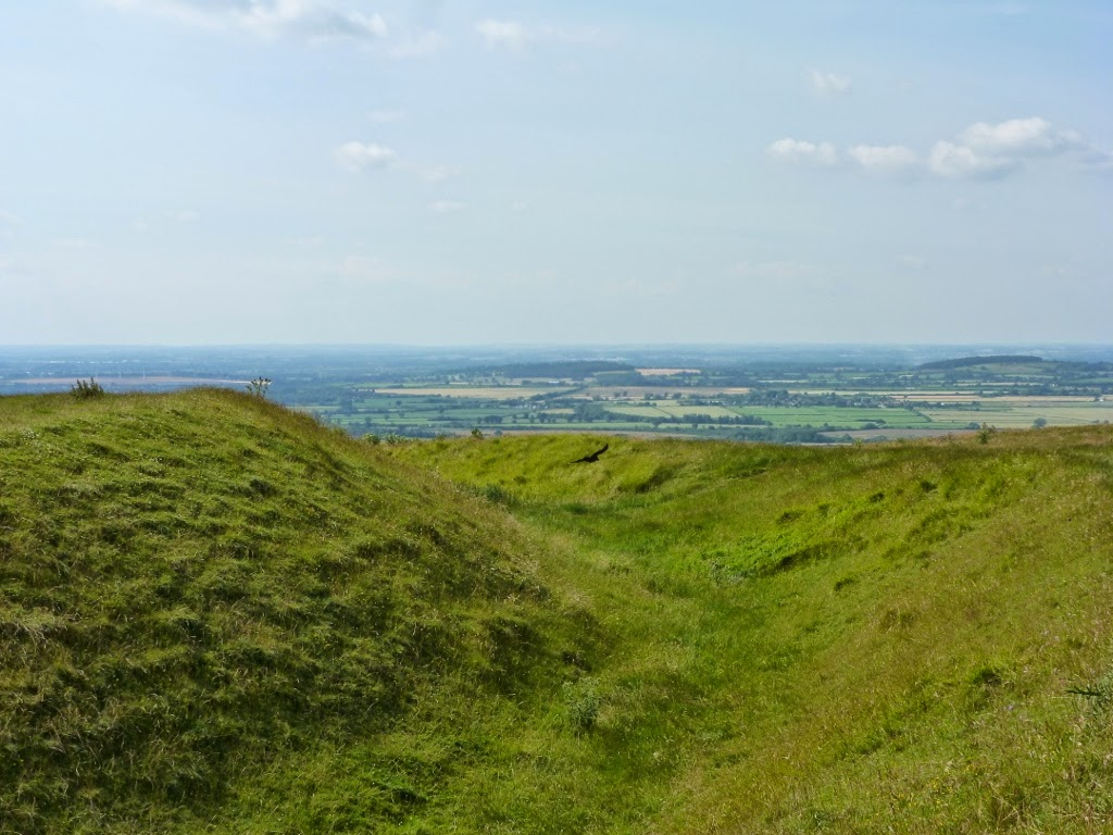 view from Uffington Castle
